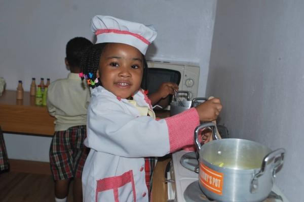 Cookery Extra Curricular Activities at Artville School, Chevron, Lekki Lagos