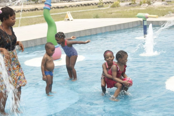 Swimming Extra Curricular Activities at Artville School, Chevron, Lekki Lagos